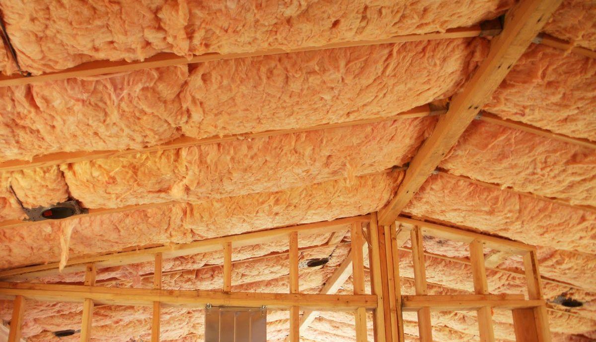 Утепление потолков крыш своими руками