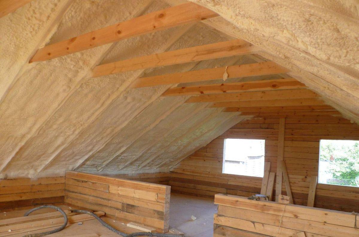 Утепление мансардной крыши изнутри своими руками. Пошаговая инструкция