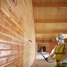 Как защитить древесину в домашних условиях