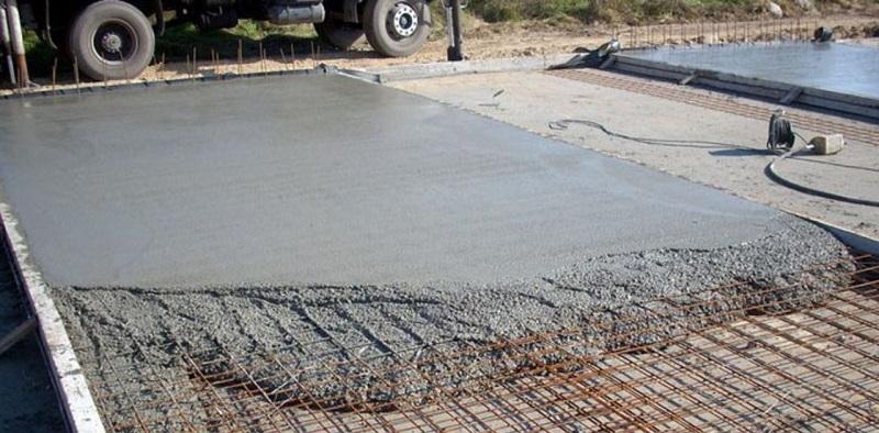 Применение бетона