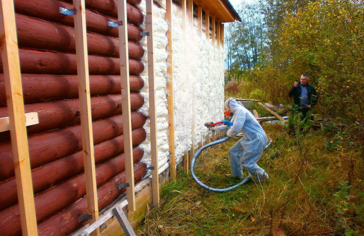 Теплоизоляция домов из бруса