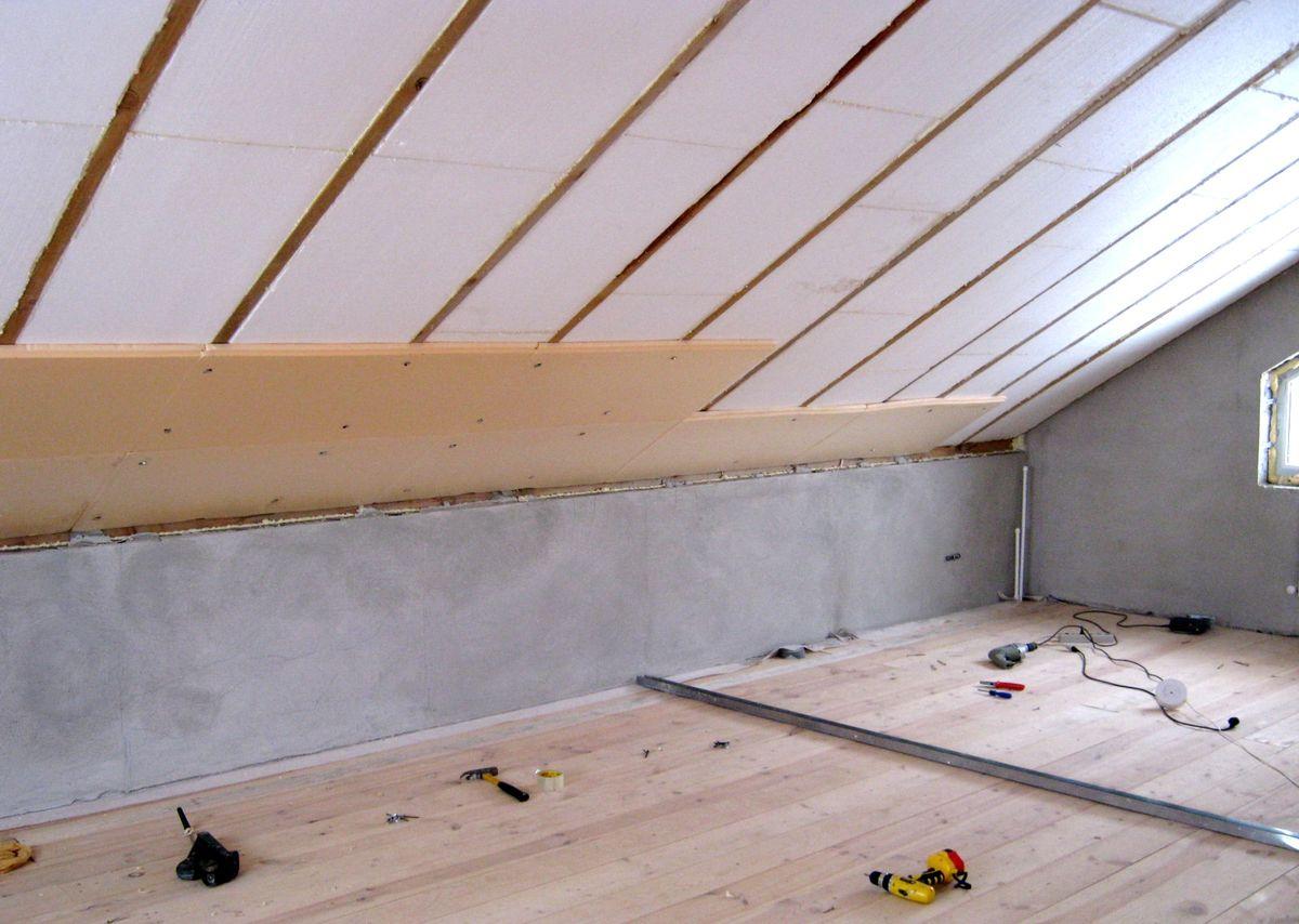 Утепление потолка, крыши и пола в частном доме своими руками