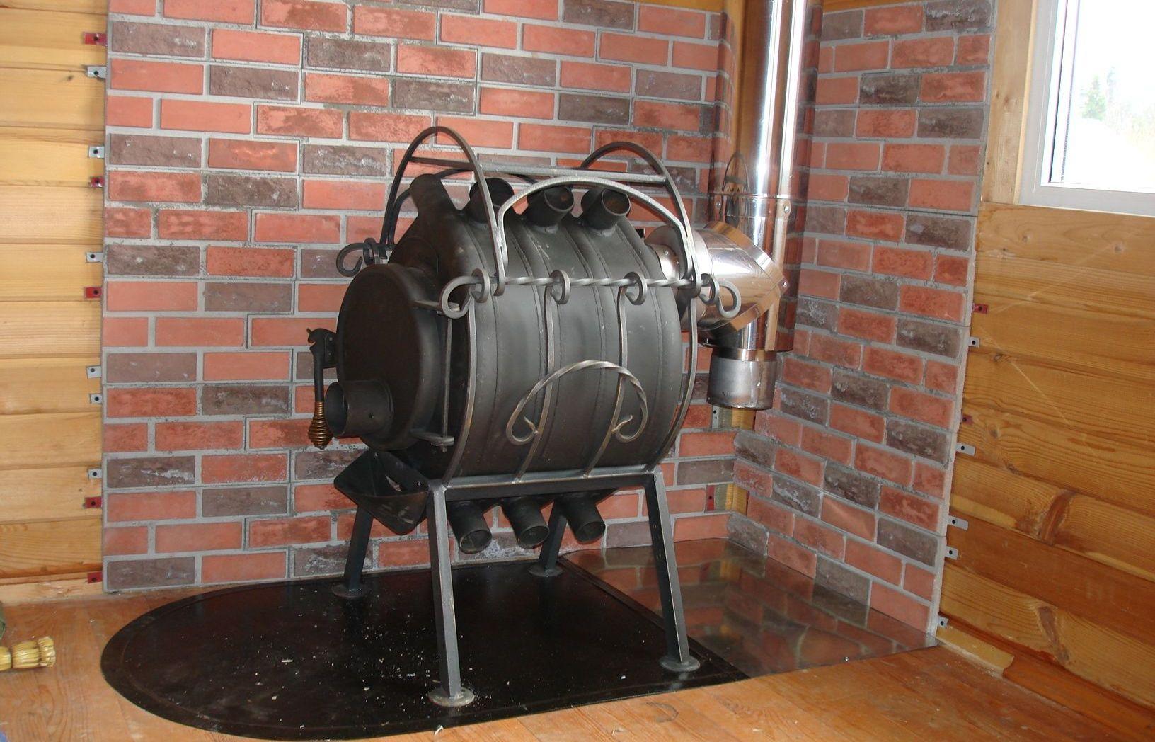 Как сделать дымоход для булерьяна и буржуйки