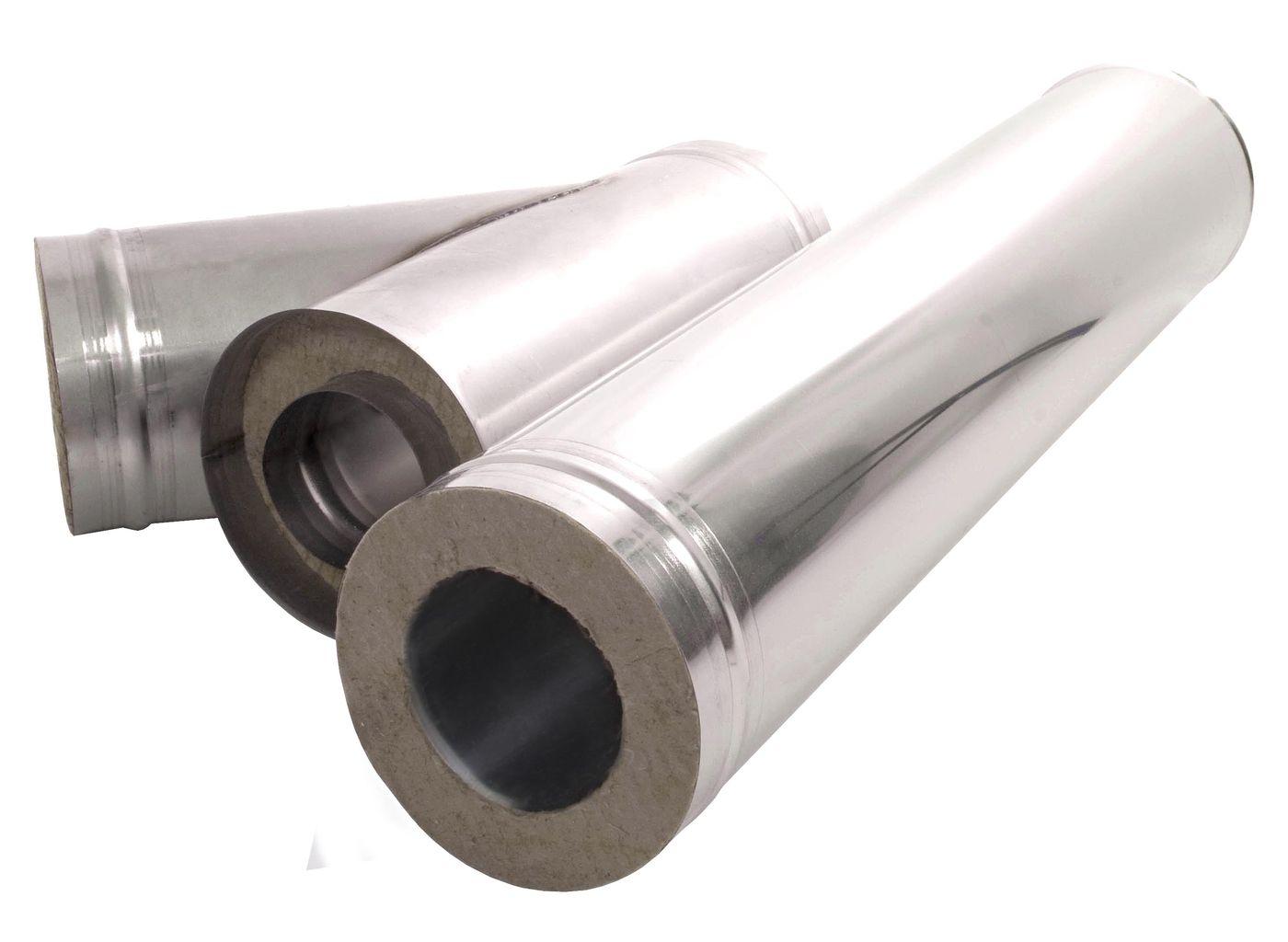 Дымоходы из оцинкованной стали: виды и преимущества