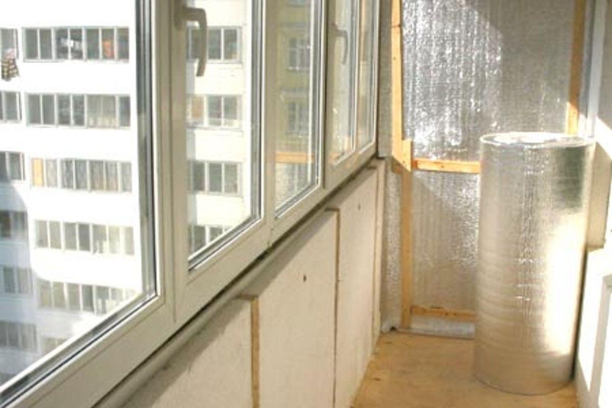 Утепление балкона и лоджии своими руками с видео процесса