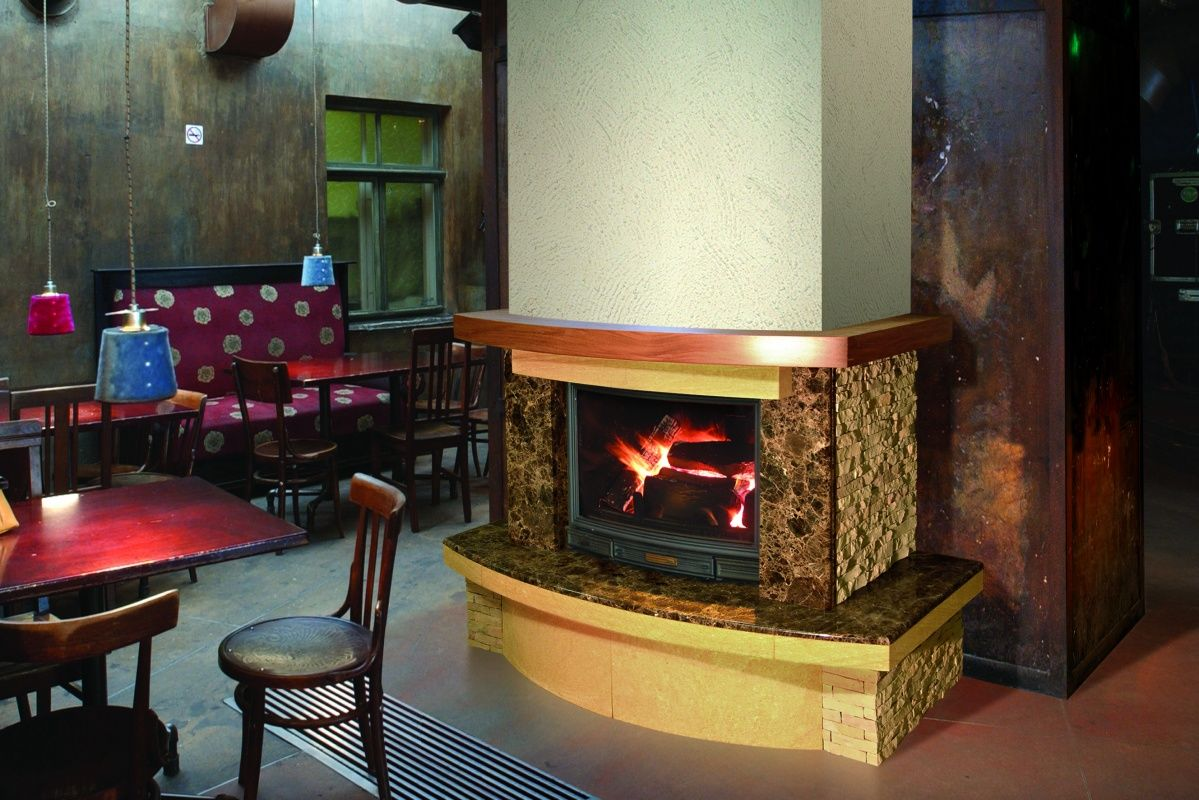 Устройство и схемы дымохода камина