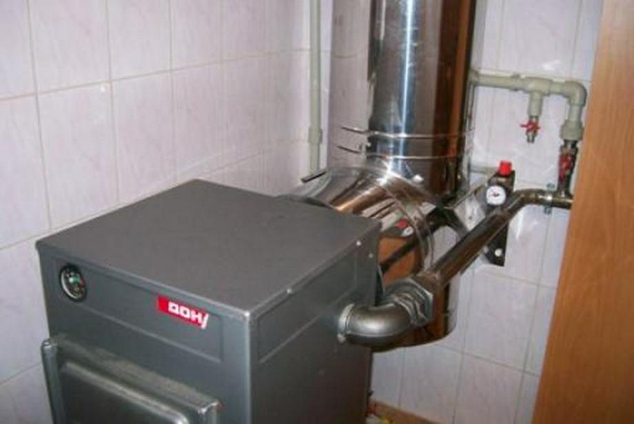 Дымоход для твердотопливного котла: монтаж и материалы