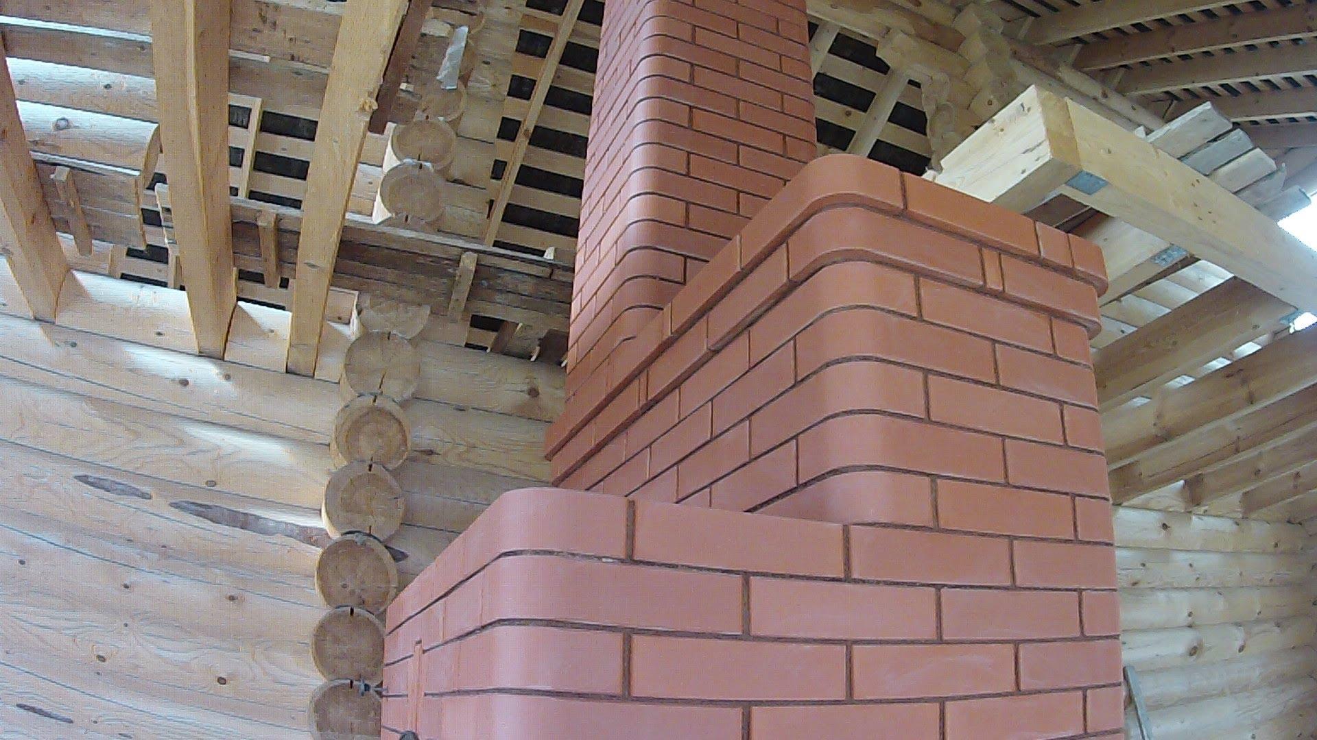 Монтаж трубы дымохода в срубе или деревянном доме