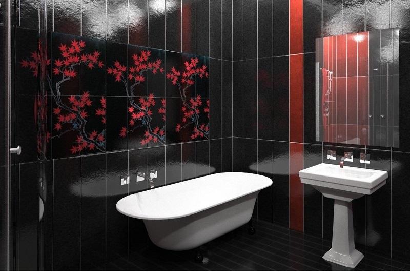 Панель ПВХ для ванной комнаты