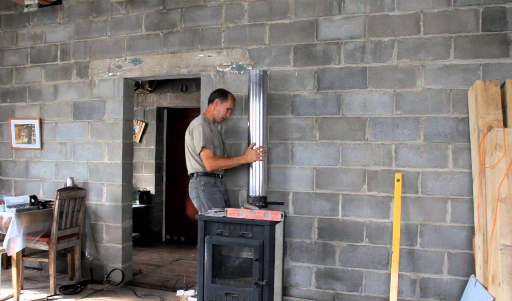 Устройство каминного дымоотвода: размер, место расположения и прочие хитрости